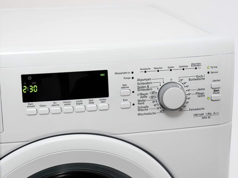 Bauknecht wak 83 waschmaschine im test 07 2018