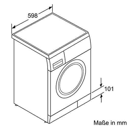 Gut bekannt Bosch WAE283ECO Waschmaschine im Test [Februar 2019] AZ25