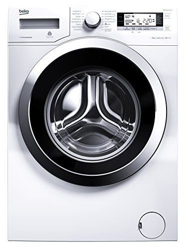 Beko WYA 81643 LE Waschmaschine FL / A+++ / 190 kWh/Jahr / 1600 UpM / 10780 L/Jahr / 8 kg / weiß / Watersafe+