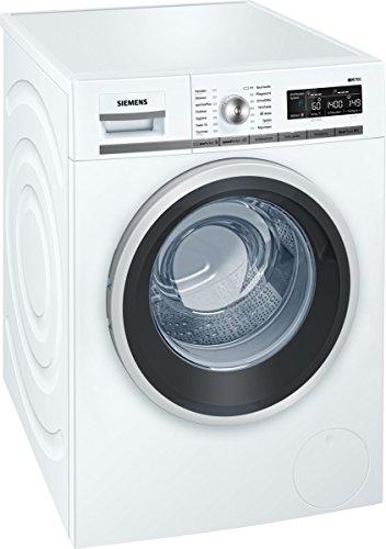 Siemens iQ700 WM14W5A1 iSensoric Premium-Waschmaschine / A+++ / 1400 UpM / 8 kg / Weiß / Nachlegefunktion / Antiflecken-System / Super15