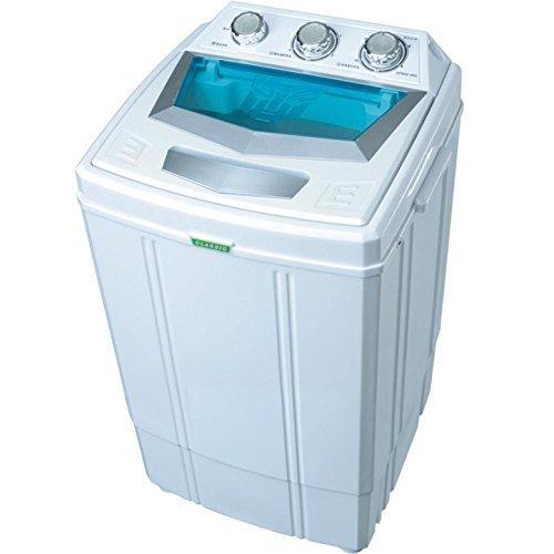 Syntrox Germany Energie A 4 Kg Waschmaschine mit Schleuder Campingwaschmaschine Mini Waschmaschine