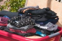 Schwarze Wäsche