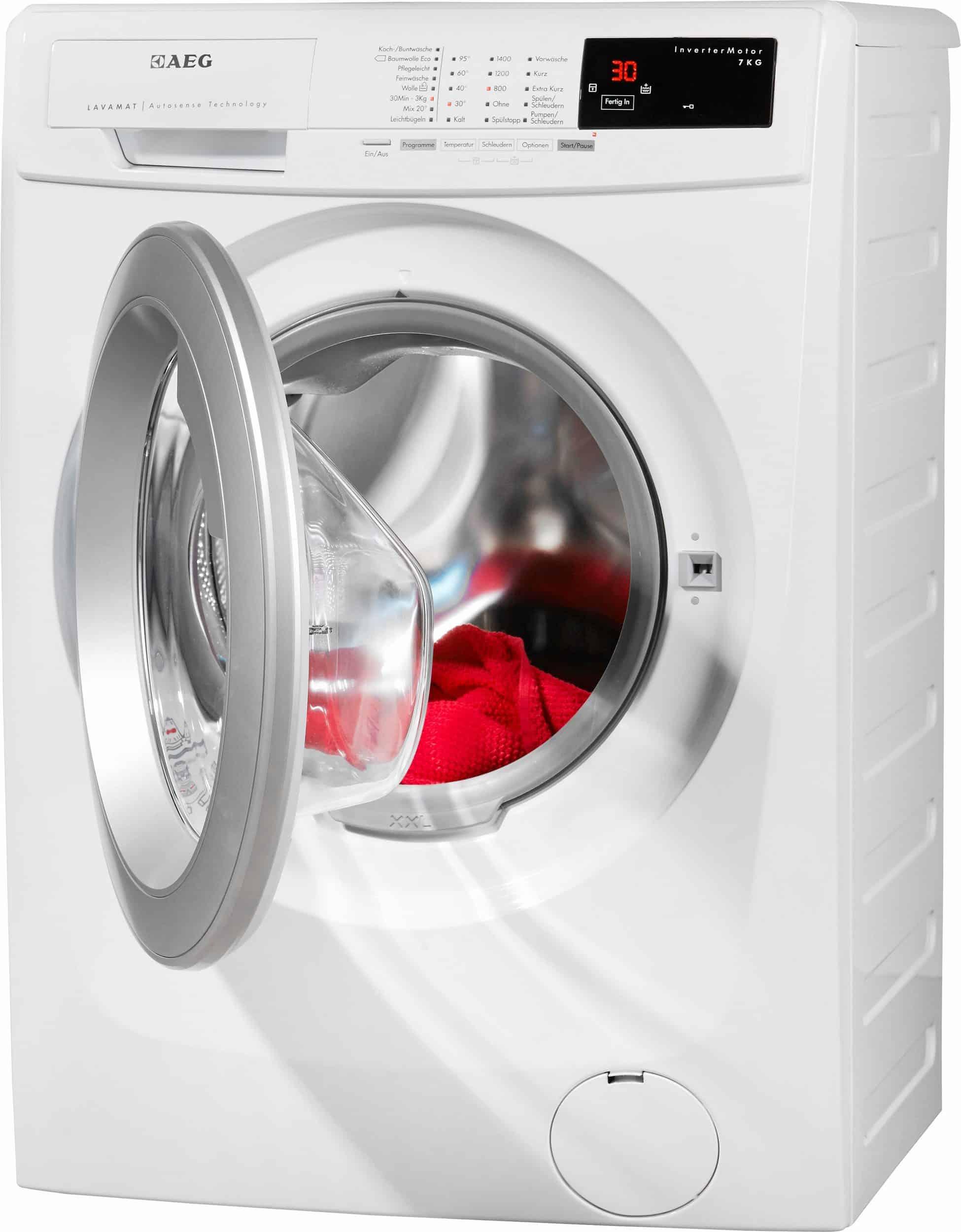 aeg lavamat l14as7 waschmaschine im test 2018. Black Bedroom Furniture Sets. Home Design Ideas