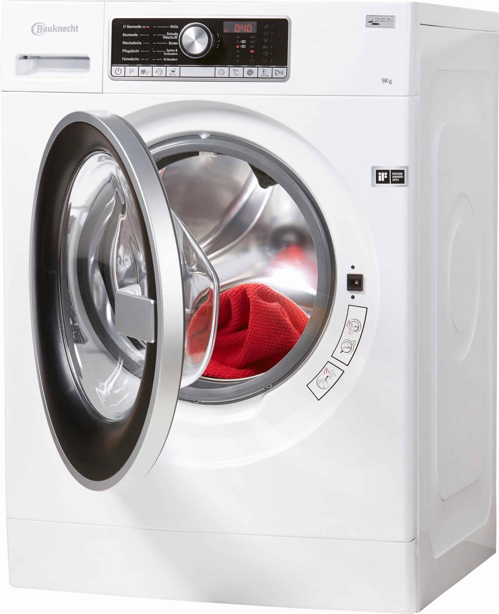 bauknecht wm trend 914 zen waschmaschine im test 2017. Black Bedroom Furniture Sets. Home Design Ideas