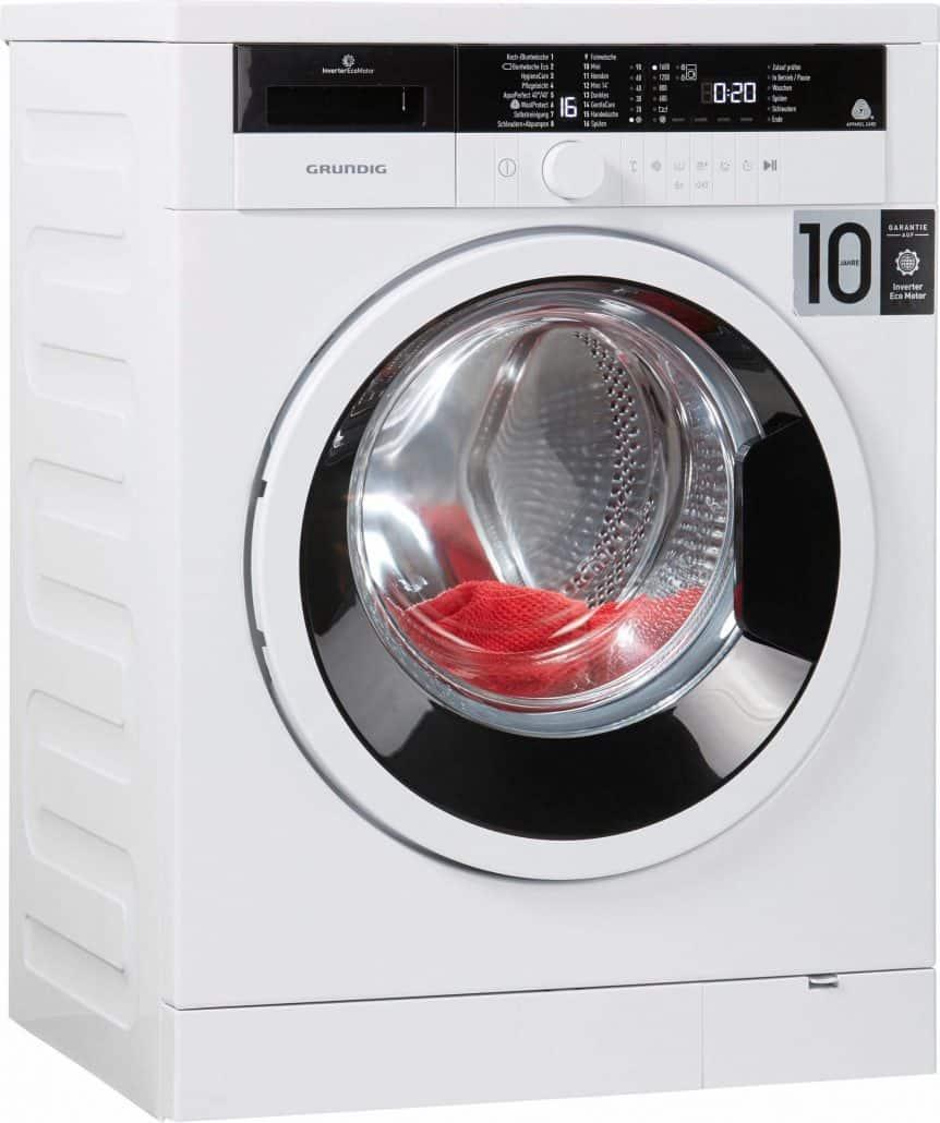 grundig gwo 37630 wb waschmaschine im test 07 2018. Black Bedroom Furniture Sets. Home Design Ideas