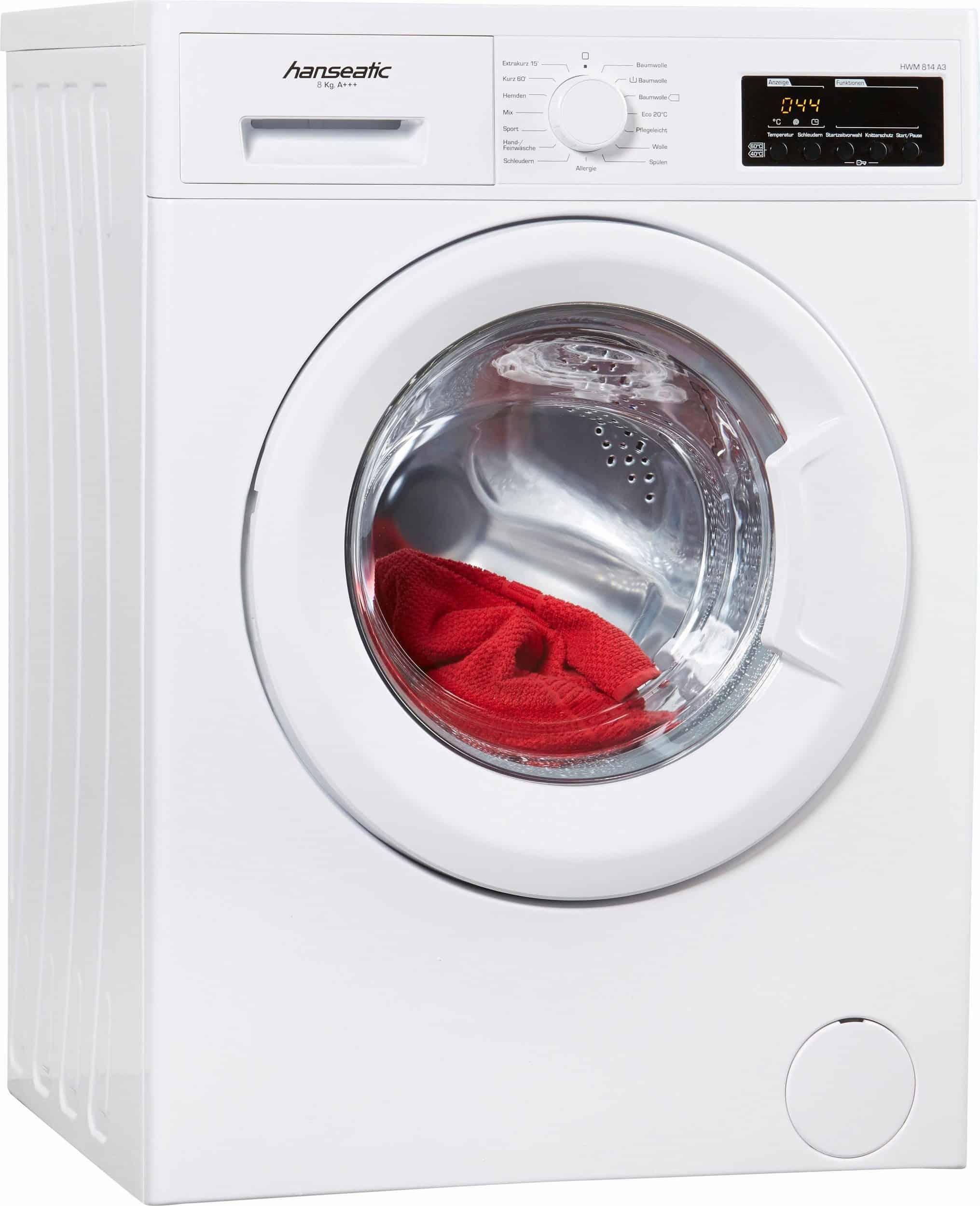hanseatic hwm 814 a3 waschmaschine im test 2017 hanseatic waschmaschine. Black Bedroom Furniture Sets. Home Design Ideas