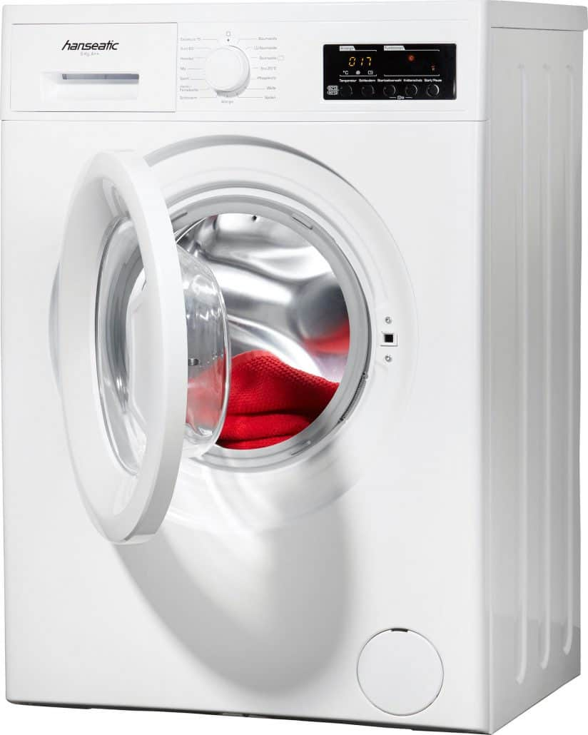 hanseatic hwm612a2 waschmaschine im test 07 2018. Black Bedroom Furniture Sets. Home Design Ideas