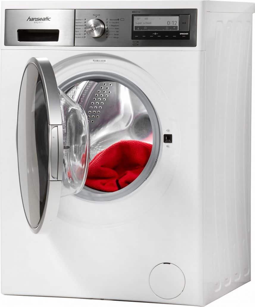 hanseatic hwm814a3d waschmaschine im test 07 2018. Black Bedroom Furniture Sets. Home Design Ideas