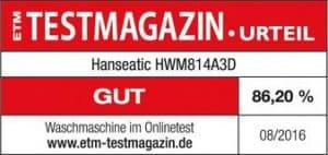 Hanseatic HWM814A3D Testurteil