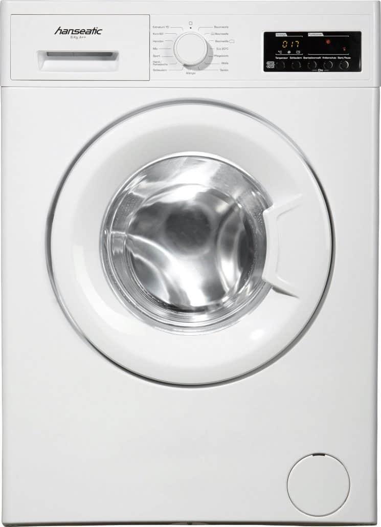 hanseatic hwm614a2 waschmaschine im test 07 2018. Black Bedroom Furniture Sets. Home Design Ideas