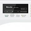 Miele-Waschmaschine Ansicht Display