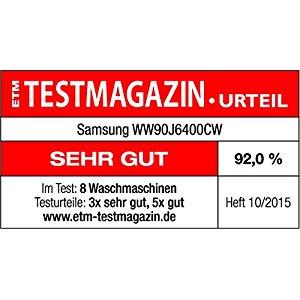 Test Samsung WW90J6400CW EG Waschmaschine