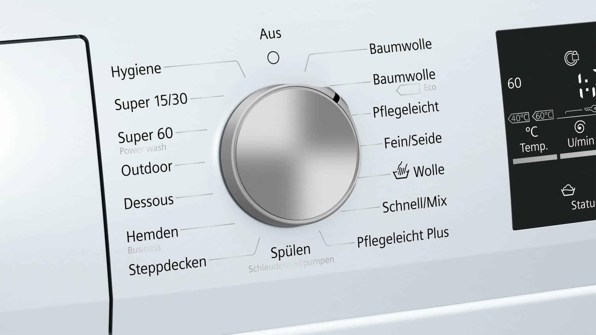 Siemens wm14t411 waschmaschine im test 07 2018