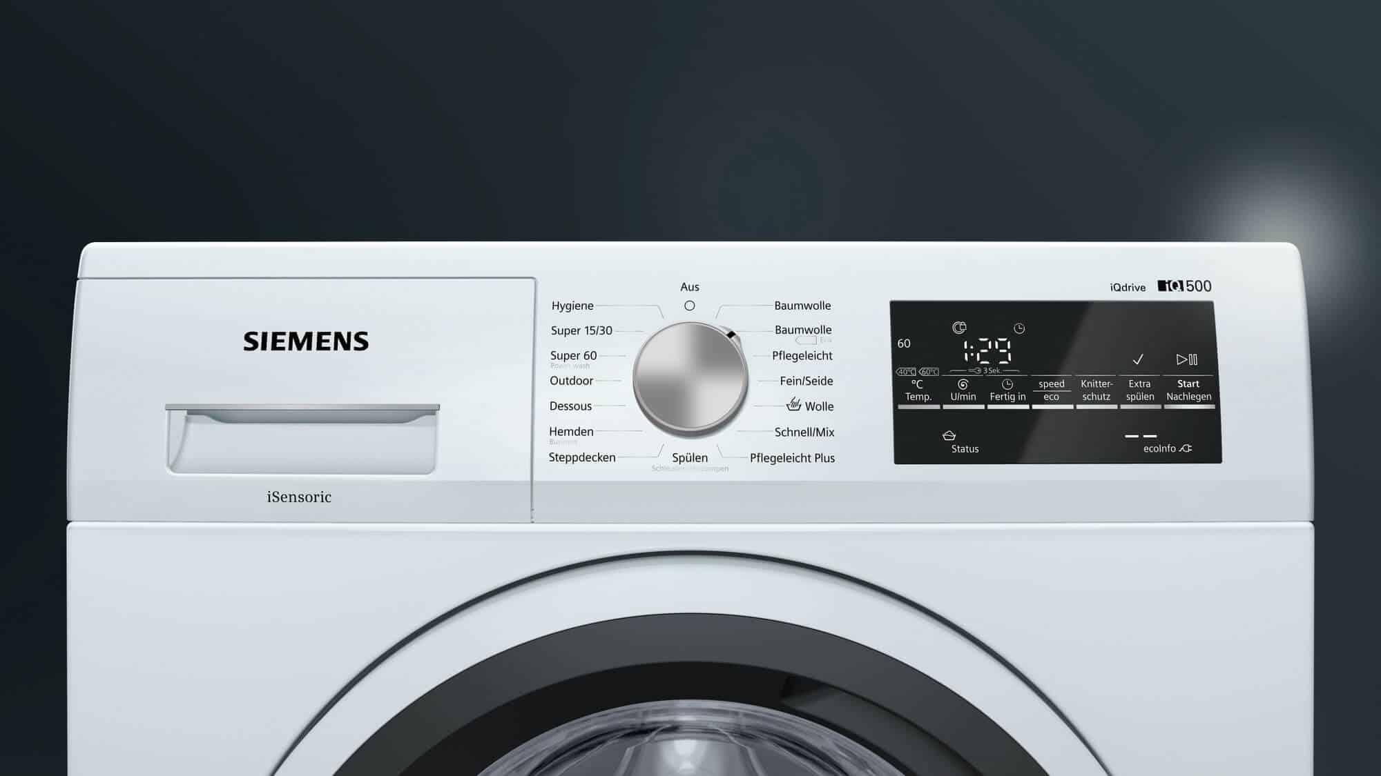 Siemens wm14t421 waschmaschine im test 07 2018