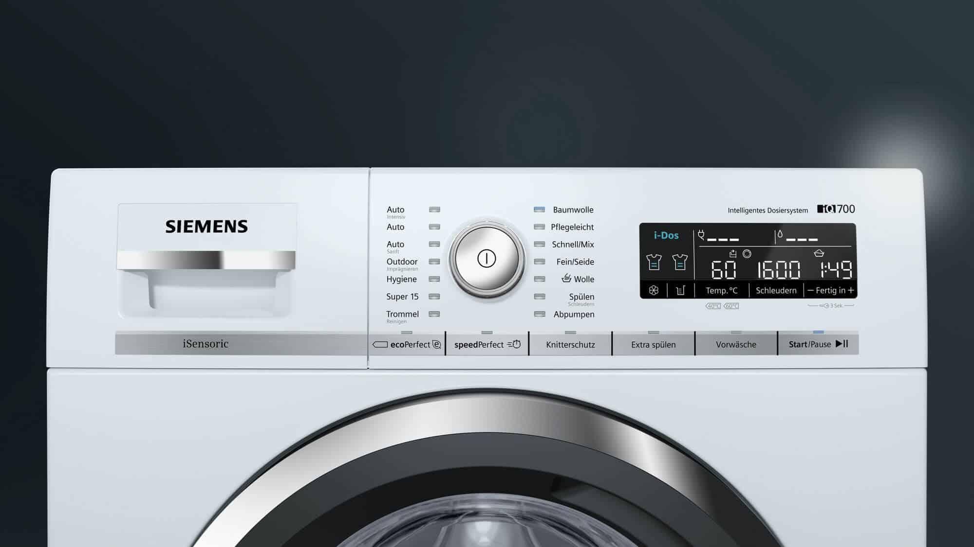 Siemens wm w a waschmaschine im test