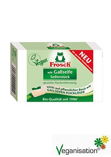 Frosch wie Gallseife Seifenstück - 80 g vegan