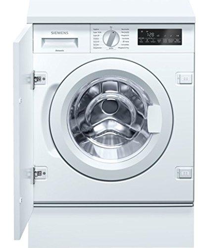 Siemens WI14W440 Waschmaschine Frontlader/A+++/1355 UpM/15-Minuten-Schnellprogramm/Großes Display mit Endezeitvorwahl