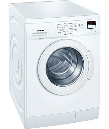 Siemens WM14E22A Waschmaschine Frontlader/A+++/1391 UpM/15-Minuten-Schnellprogramm/Wassersparen mit waterPerfect