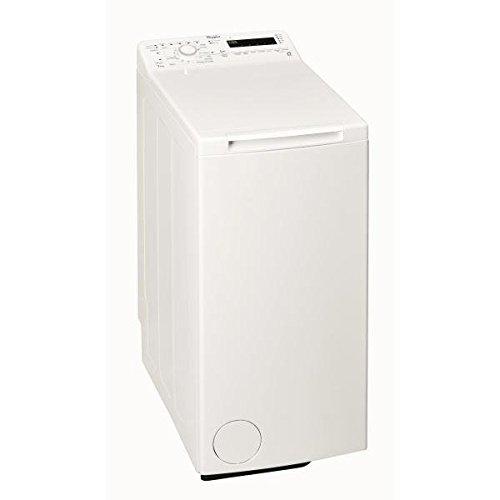 Whirlpool TDLR70211 Freistehende Waschmaschine, 7 kg, 1.200U/min, Weiß, Toplader, A+++, C