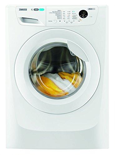 Zanussi ZWF81463C Waschmaschine FL / 190 kWh / 1400 UpM / 8 kg / 9999 Liter / 8 kg GentleCare Trommel / Restlaufanzeige / weiß