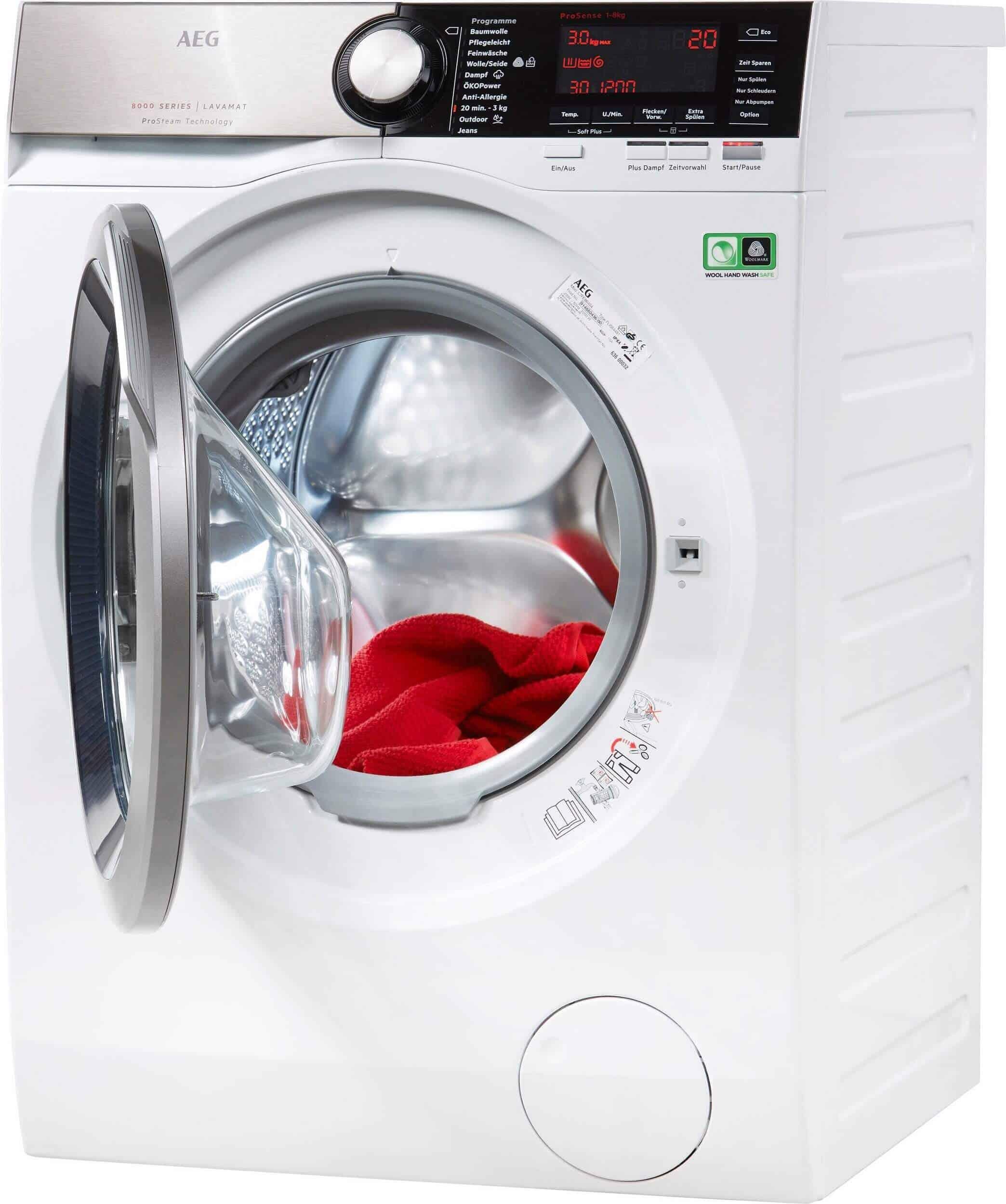 Beliebt Aeg L8fe86684 Waschmaschine im Test 02/2019 XO97