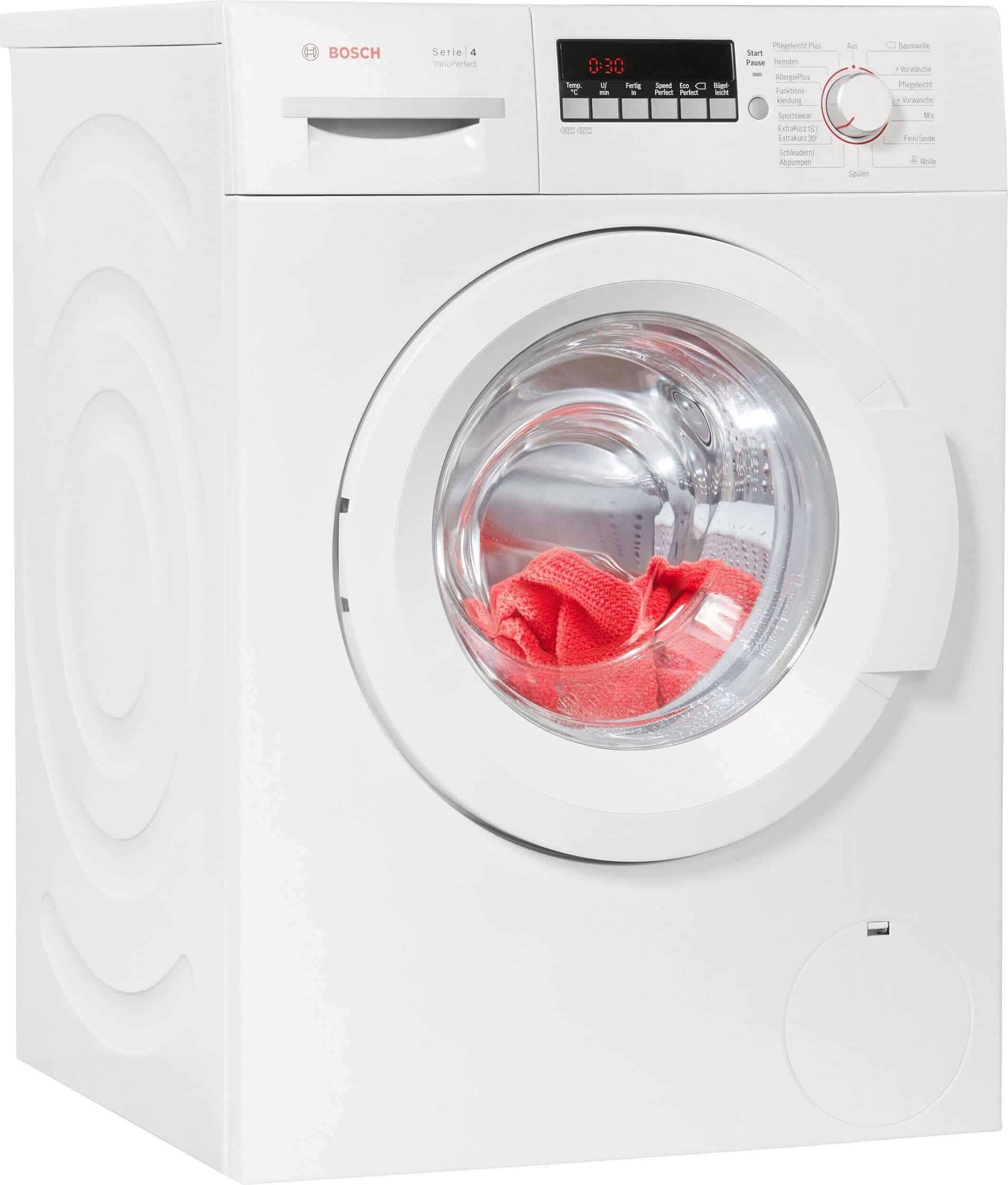 bosch wak28248 waschmaschine im test 07 2018. Black Bedroom Furniture Sets. Home Design Ideas