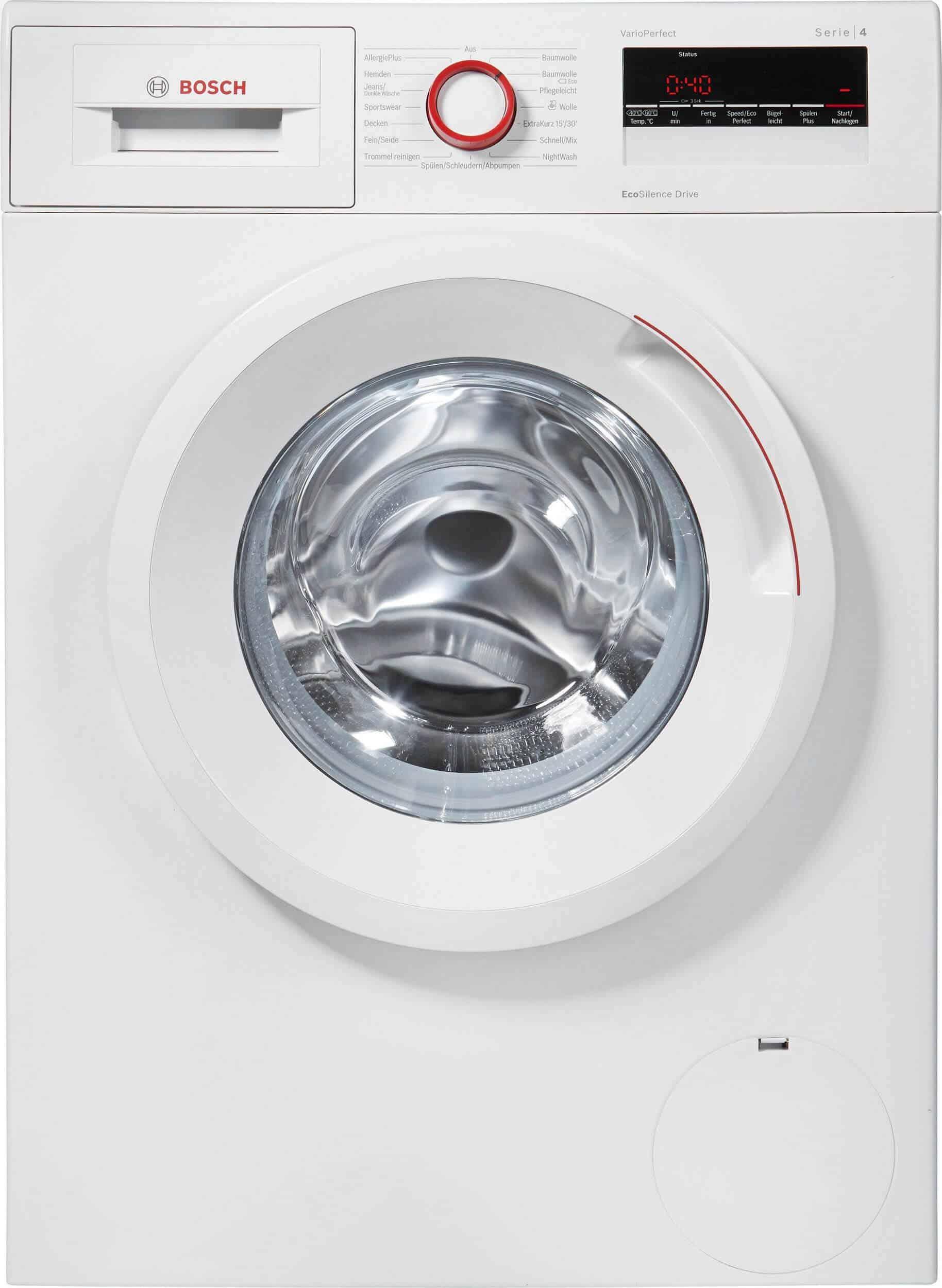 Bosch Wan282v8 Waschmaschine Ansicht Bedienelement Hochwertige
