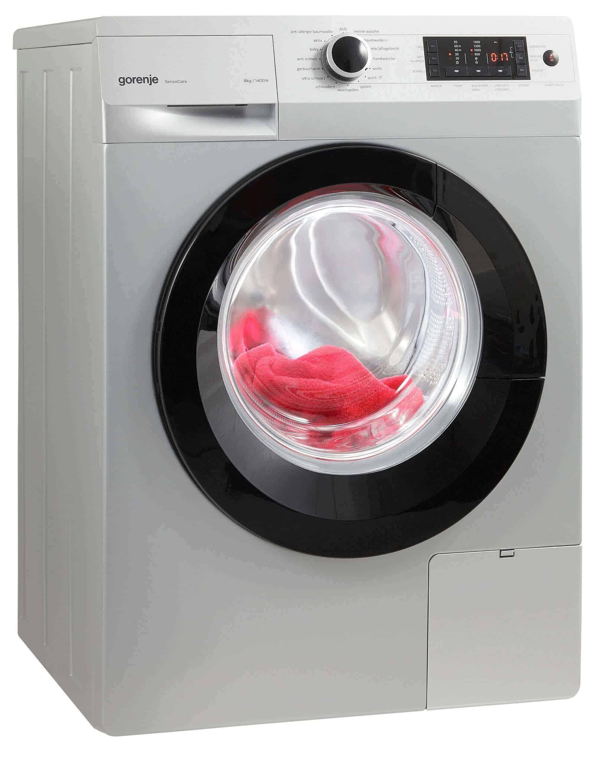 gorenje w8543t waschmaschine im test 07 2018. Black Bedroom Furniture Sets. Home Design Ideas