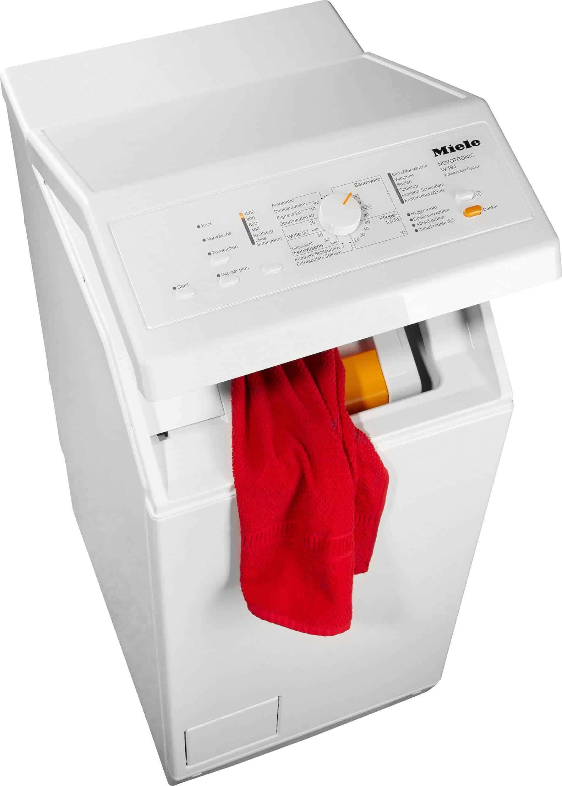 Miele W 194 Wcs Hochwertige Miele Toplader Waschmaschine