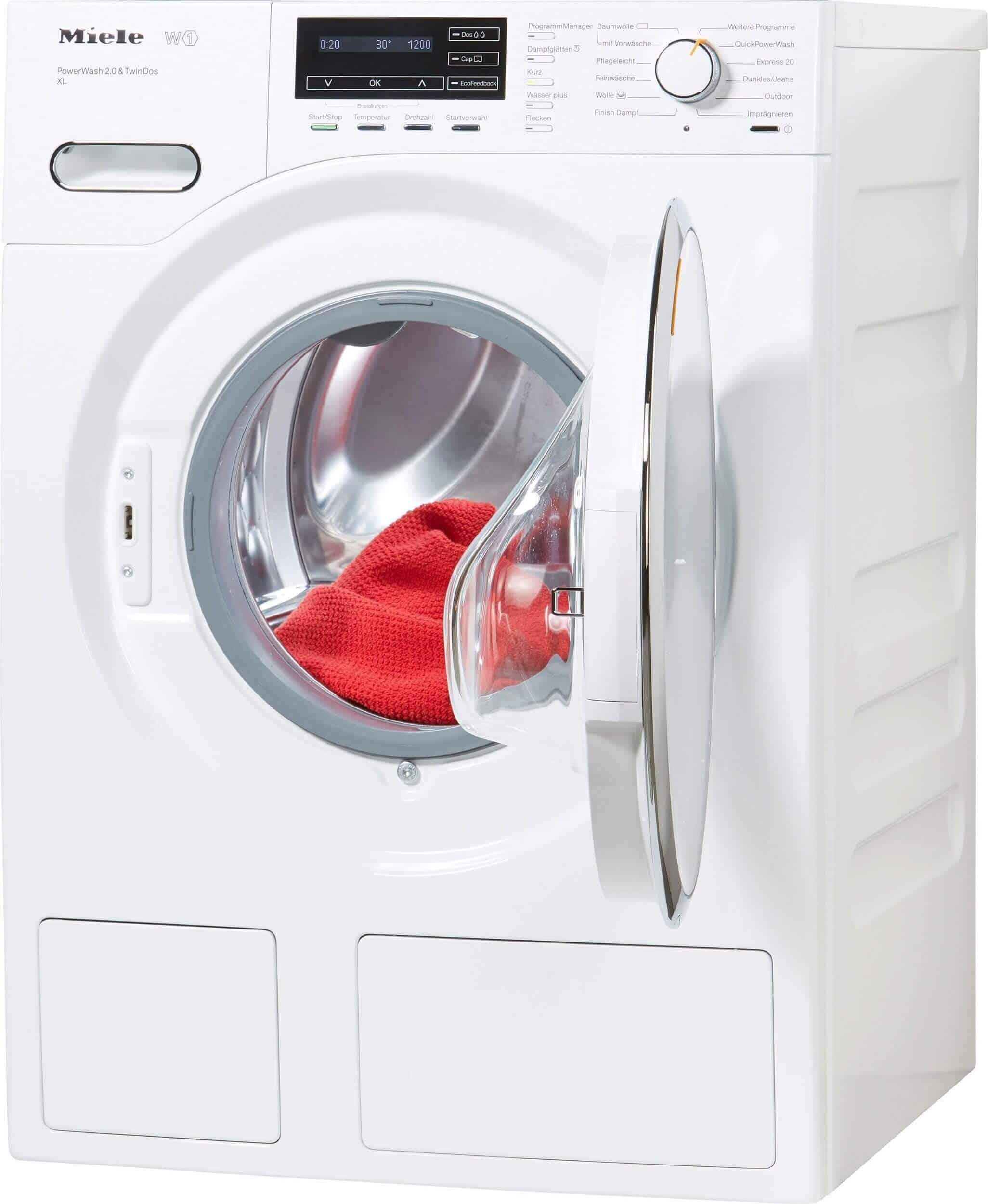 miele wmh 262 wps waschmaschine im test 07 2018. Black Bedroom Furniture Sets. Home Design Ideas