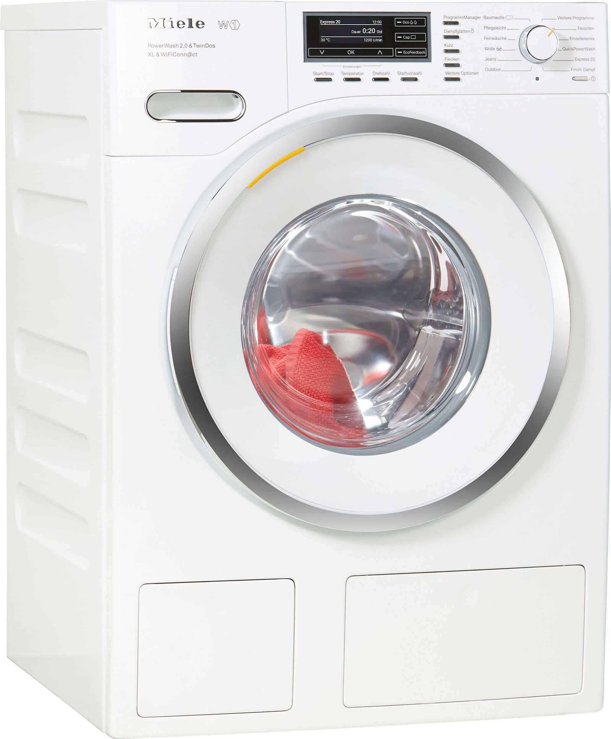 Miele Wmr 863 Wps Waschmaschine im Test 07/2018