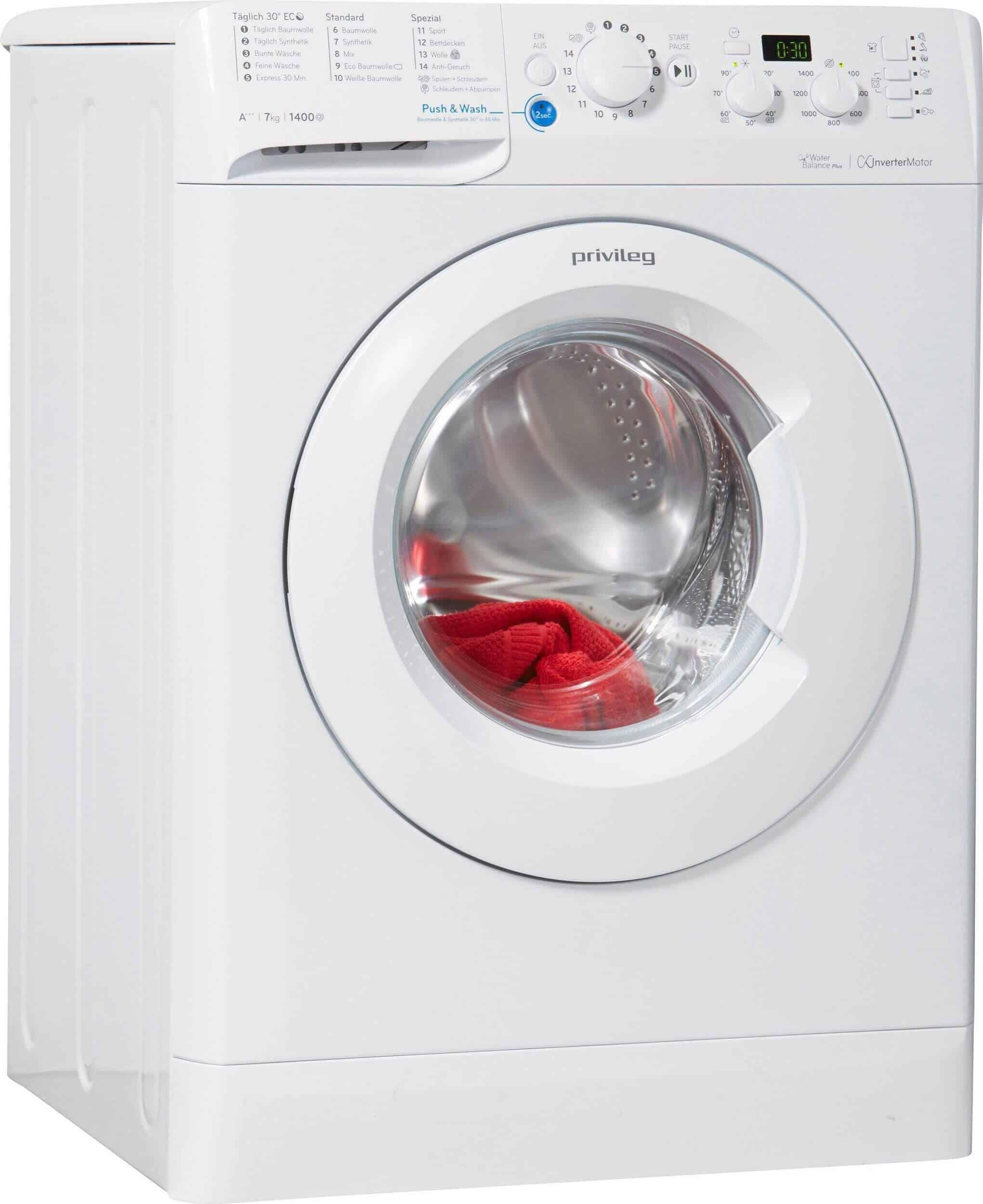 Turbo Privileg Pwf X 743 Waschmaschine im Test 02/2019 WD87