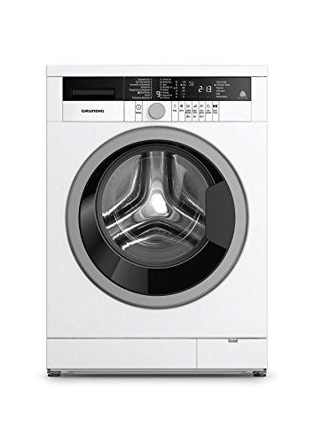 Grundig GWW 384311 Waschmaschine / 8kg / 1400 UpM / Selbstreinigung / Knitterschutz / 16 Waschprogramme / 24h Startzeitvorwahl / 34 cm Einfüllöffnung / Water Protect+ / Wool Protect