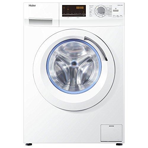 Haier HW100-14636 Waschmaschine FL / A+++ / 220 kWh/Jahr / 1400 UpM / 10 kg / Aqua Protect Schlauch / weiß