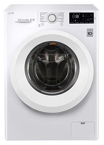 LG Electronics F 14U2 V9KG Waschvollautomat / A+++ / 9kg / 1400 UpM / Digitales Touchdisplay mit Restzeitanzeige und Startzeitvorwahl / weiß