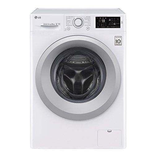 LG Electronics F 14WM 8KN1 Waschmaschine Frontlader / A+++ / 1400 UpM / 8 kg / Inverter Direct Drive