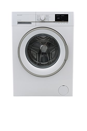 Sharp ES-GFB7164W3-DE Waschmaschine/A+++/1600 UpM/7 kg/Bubble Drum/Aquastop/Schaumschutz/LED-Anzeige/Allergy Smart/weiß