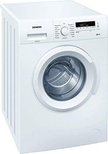 Siemens iQ100 WM14B222 iSensoric Waschmaschine / 1400 UpM / 6 kg / Weiß / SpeedPerfect / WaterPerfect / Super15
