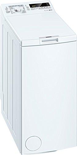Siemens WP12T227 iQ300 Waschmaschine TL / A+++ / 174 kWh/Jahr / 1140 UpM / 7 kg / Weiß / 9240 L/Jahr / Großes Display mit Endezeitvorwahl