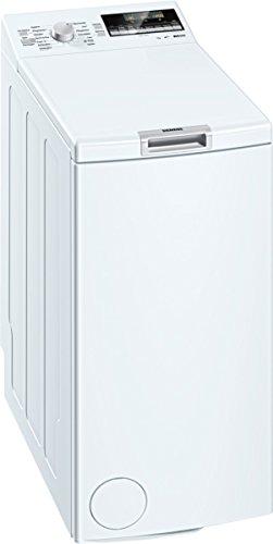 Siemens WP12T447 iQ500 Waschmaschine TL / A+++ / 174 kWh/Jahr / 1140 UpM / 7 kg / 9240 L/Jahr / Großes Display mit Endezeitvorwahl / weiß