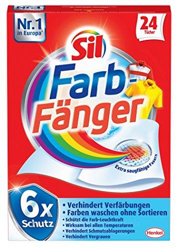 Sil Farb-Fänger Tücher , 4er Pack (4 x 24 Stück)