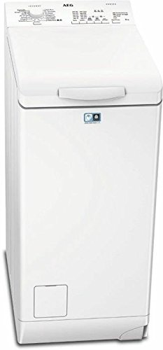 AEG L51260TL Waschmaschine Toplader / Waschmaschine mit 6 kg ProTex Trommel / sparsamer Waschautomat mit Mengenautomatik / Energieklasse A+++ (150 kWh/Jahr) / automatische Waschmitteldosierung / weiß