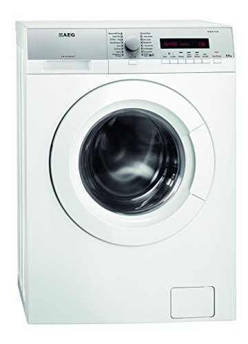 AEG L76275SL Waschmaschine Frontlader / freistehende Waschmaschine mit 6,5 kg ProTex Schontrommel / Energieklasse A+++ (151,0 kWh/Jahr) / sparsamer Waschautomat mit Mengenautomatik / silberfarben und weiß
