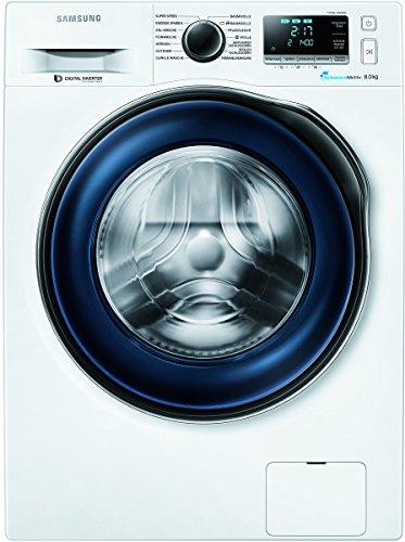 Samsung WW80J6400CW/EG Waschmaschine / A+++ / Frontlader / 1400 UpM 8 kg / SchaumAktiv / Trommelreinigung / blau