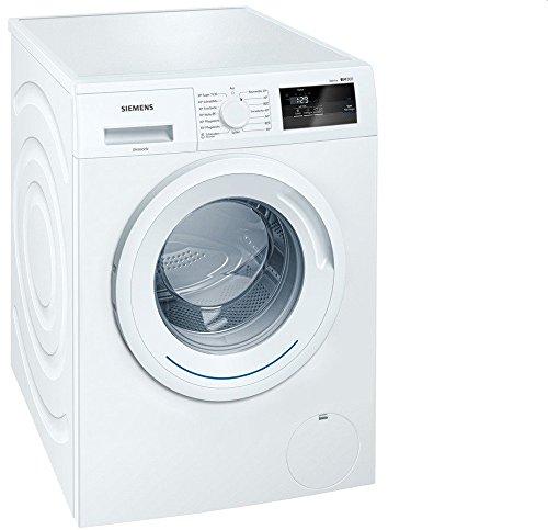 Siemens WM14N060 iQ300 Waschmaschine FL / A+++ / 137 kWh/Jahr / 1400 UpM / 6 kg / Großes Display mit Endezeitvorwahl / weiß