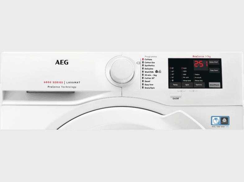 AEG L6fb50472 Bedienelement