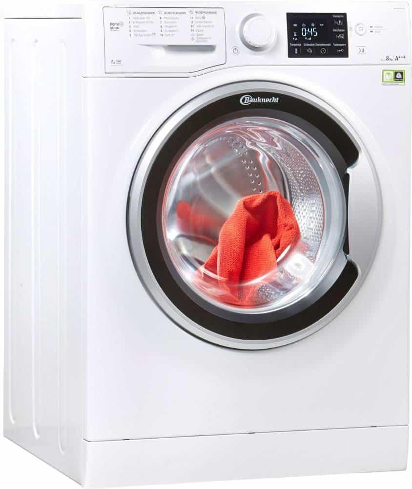 bauknecht wm sense 8g42ps waschmaschine im test 2018. Black Bedroom Furniture Sets. Home Design Ideas