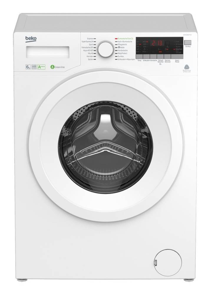 beko wya 61483 ptle waschmaschine im test 02 2019. Black Bedroom Furniture Sets. Home Design Ideas