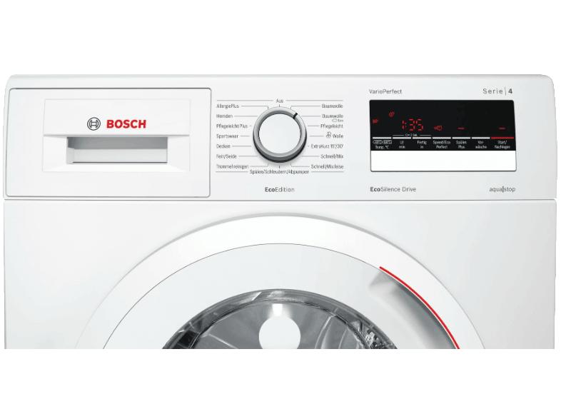 Bosch Wan282eco2 Waschmaschine Im Test 02 2019