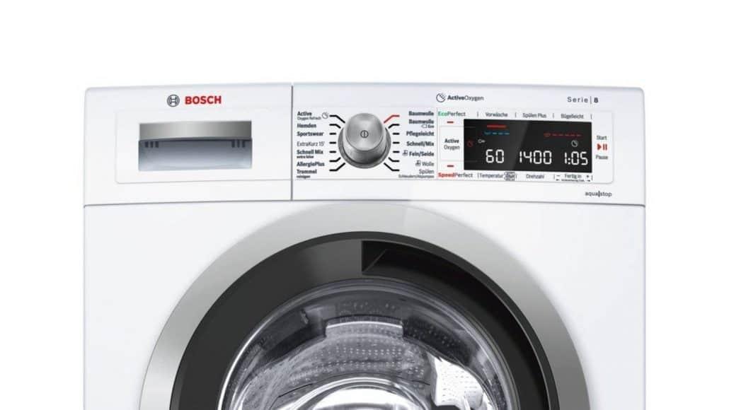 Bosch Waw28740 Bedienelement